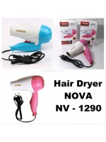 Nova NV-1290 Hair Dryer Lipat Foldable Hairdryer