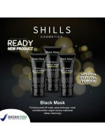 Shills Black Mask Purifying Peel Off Masker Muka BPOM Original