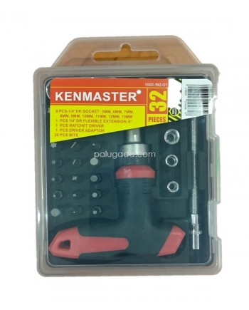 Kenmaster Kunci Sok 32 pcs - T Wrench Mini 32 pcs