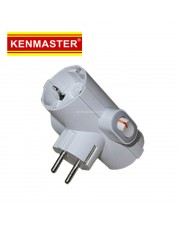 Kenmaster 006 Steker Colokan Tiga Switch On Off