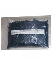 Kenmaster Cable Ties 3X100mm 1000Pcs Black