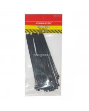 Kenmaster Cable Ties 3X150mm 50Pcs Black