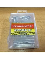 Kenmaster Accessory Set No2 Paku Putih Silver Mini
