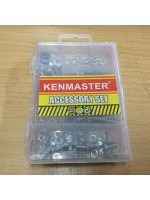 Kenmaster Accessory Set No 04 Baut Mur Galvanis Ring Plat SJP