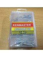 Kenmaster Accessory Set No8 Baut Gantung Paku Tembok Mini