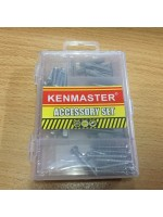 Kenmaster Accessory Set No10 Baut Fisher Mur Galvanis Mini