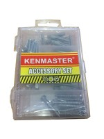 Kenmaster Accessory Set No 10 Baut Fisher Mur Galvanis Mini
