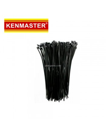 Kenmaster Cable Ties 3X150mm 200Pcs Black