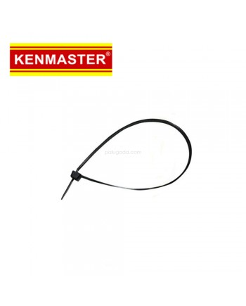 Kenmaster Cable Ties 3X150mm 1000Pcs Black