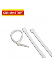 Kenmaster Nylon Cable Ties 3X150mm 1000Pcs White