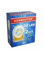 Kenmaster KM-560 Lampu Kipas Emergency 32 LED