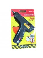 Kenmaster KM-KS40 Glue Gun 40Watt Switch On Off - Lem Tembak 40 Watt