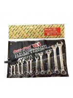 Sun-Flex Kunci Ring Pas CRV 8-24mm - Wrench Set 11Pcs
