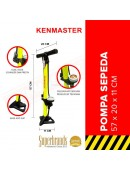 Kenmaster KM-5435B Hand Pump Yellow Tube Pompa Tangan Tabung Manual