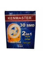 Kenmaster KM-560 Lampu Kipas Emergency 30 LED