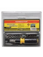 Kenmaster Kunci Sok 15 Pcs Socket Wrench