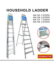 Kenmaster KM-106 Tangga 6 Step Pijakan Household Ladder