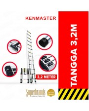 Kenmaster KM-110D Tangga Telescopik Lipat Single Telescopic 3.2 Meter