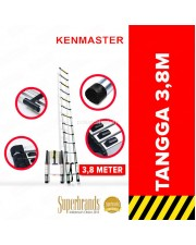 Kenmaster KM-112D Tangga Telescopik Lipat Single Telescopic 3.8 Meter