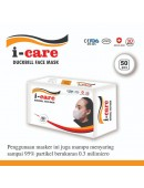 I-Care Masker Duckbill 3 Ply isi 50 Pcs Dewasa Duck Bill Surgical Mask