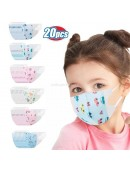 Masker Duckbill 3 Ply isi 20 Pcs Anak Karakter Duck Bill Surgical Mask