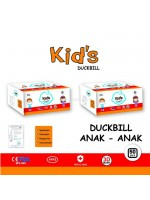 Masker Duckbill 3 Ply isi 50 Pcs Anak Duck Bill Surgical Mask