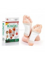 Kinoki White Putih Cleansing Detox Foot Pads isi 10 pcs - Koyo Kaki Herbal