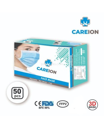 Masker 3 Ply isi 50 Pcs Disposable Mask