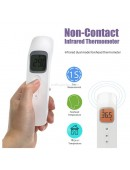 Thermometer Infrared Dual Mode Forehead Non Contact Thermo Gun