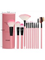 Kuas Make up Isi 12 Pcs Tabung Make Up Brush Tabung