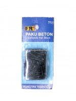 FRT Paku Beton Hitam 20mm - Concrete Nail Black 20mm