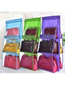 Hanging Bag Organizer Dust Cover - Rak Gantung Tas Anti Debu