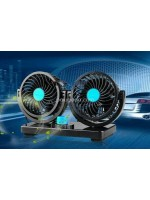 Kipas Angin Mobil Colokan HU 12V Double Fan