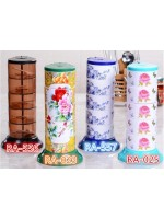 Rak Bumbu Susun 5 - Pop Up Spice Rack