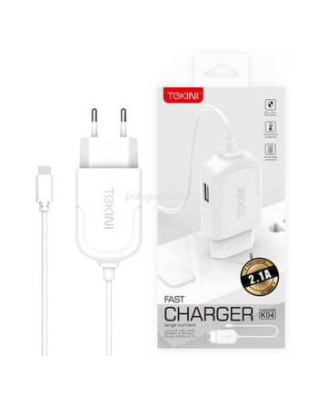 Tekini K04 Fast Charger 2A With Micro Usb Cable
