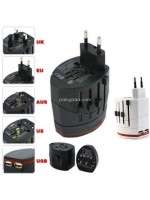 Universal World Travel Adapter SWA-2 Plug 4 in 1 with USB Port