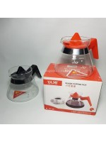 Yami YM-02 Glass Coffee Pot 500ml - Server Range Kopi 500ml