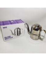 Latina REW-1104 Olive Coffee Kettle 900ml - Teko Leher Angsa