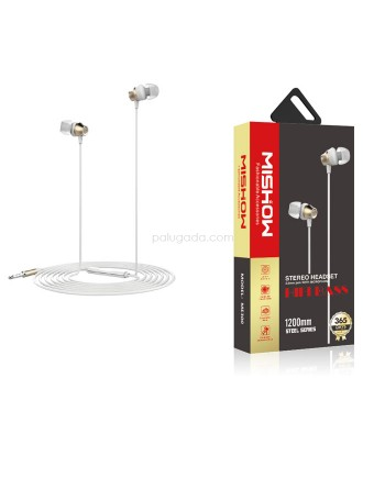 Mishow ME300 Hifi Bass Stereo Headset 3.5mm Jack With Microphone