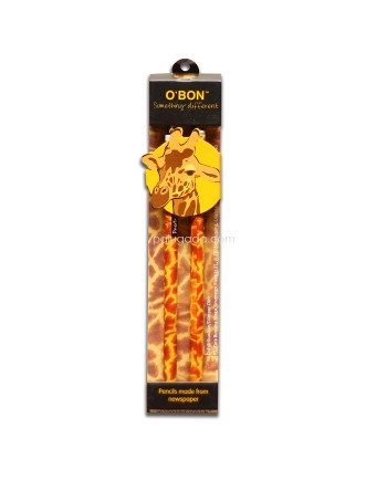 O'BON Wildlife Series Twin Pack Pensil 2B isi 2pcs