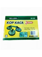 Sellery 32-100 Glass Suction Cup 3 Leg - Kop Kaca 3 Kaki