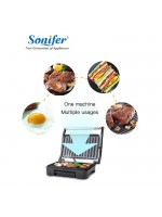 Sonifer SF-6018 Electric Grill 750 Watt - SF6018 Panggangan Elektrik
