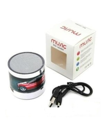 Speaker Mini Bluetooth Motif Mobil Led