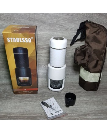 Staresso SP-200 White with Bag Manual Handy Espresso Coffee Maker