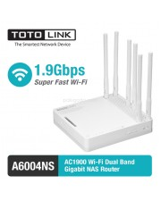 Totolink A6004NS AC1900 Wireless Dual Band Gigabit NAS Router