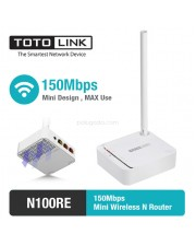 Totolink N100RE 150Mbps Mini Wireless Router & Repeater