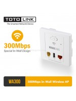 Totolink WA300 300Mbps In-Wall Wireless AP