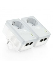 TP-LINK TL-PA4020PKIT 2-Port Passthrough Powerline Starter Kit