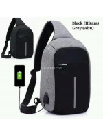 Tas Selempang Anti Thief Water Proof Smart Crossbody Bag