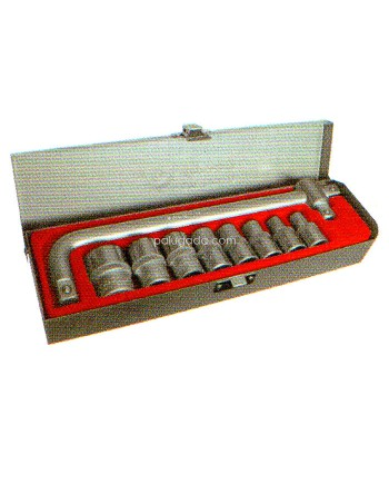 Tjap Mata Socket Set CVS 11 pcs 8-24mm